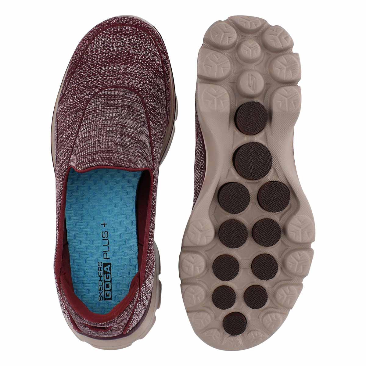 Flâneur Super Sock 3, bourgogne, fem