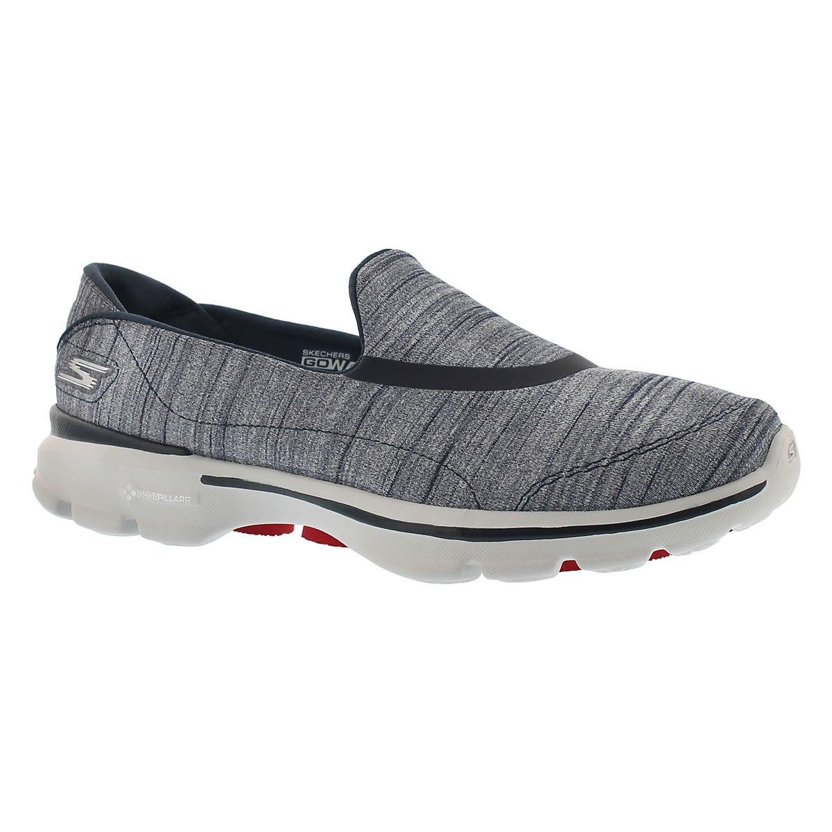 Lds GOwalk 3 navy walking shoe