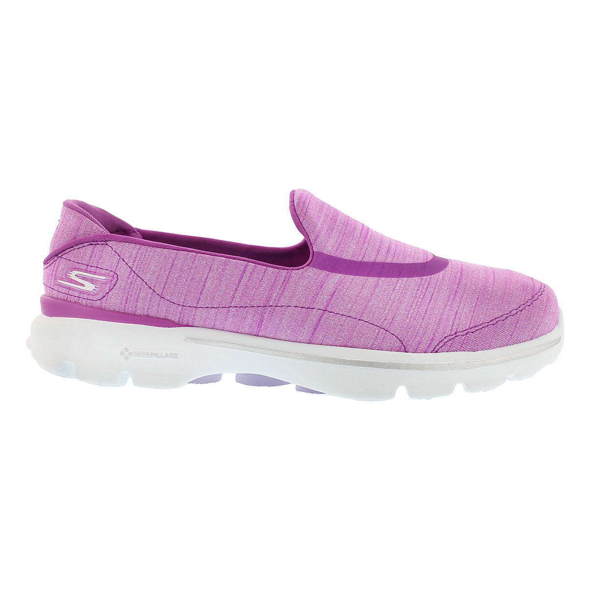 Lds GOwalk 3 purple walking shoe