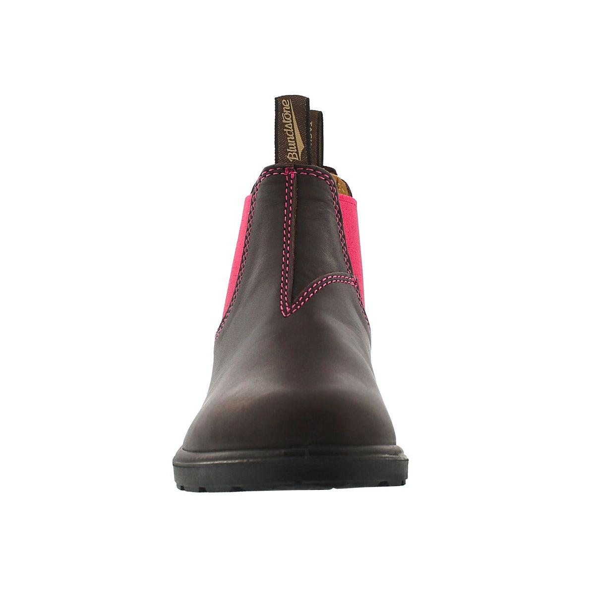 Kids Blunnies brown pink twin gore boot