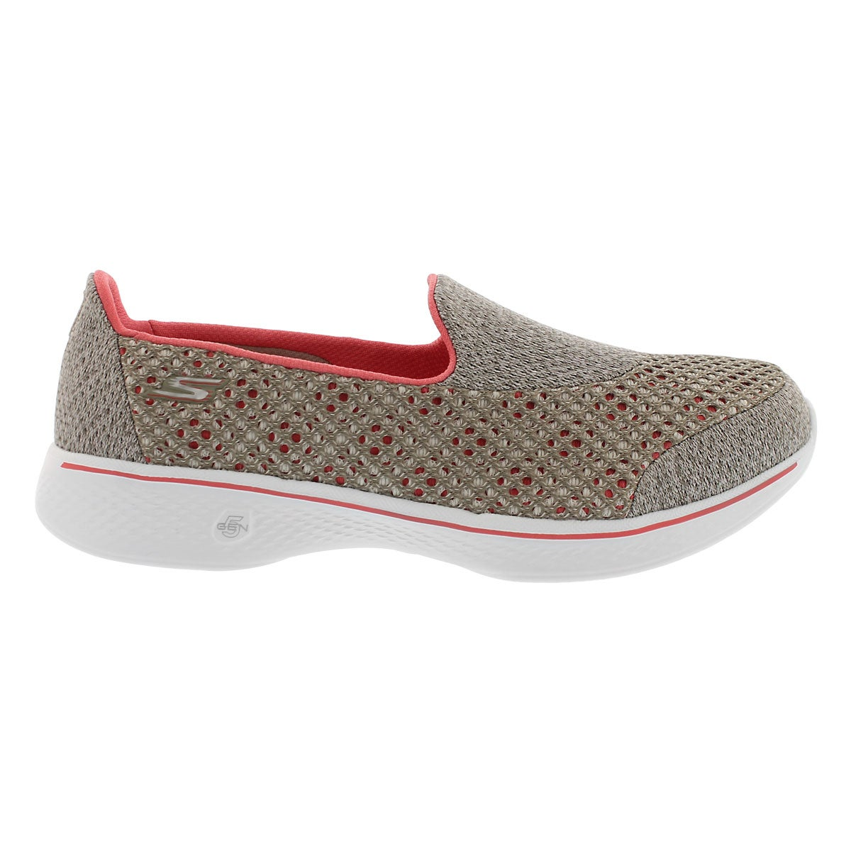 Lds GO Walk 4 Kindle taupe walking shoe