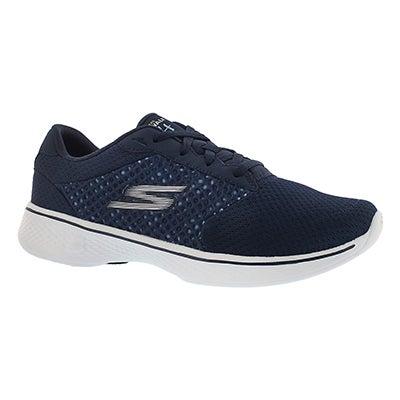 Skechers Chaussures de marche lacéees GOwalk 4, marine, fem