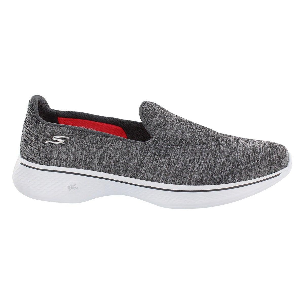 Lds GOwalk 4 Achiever gry slip on shoe