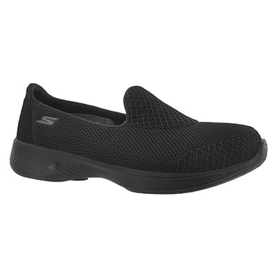 Lds GO Walk 4 Propel blk walking shoe