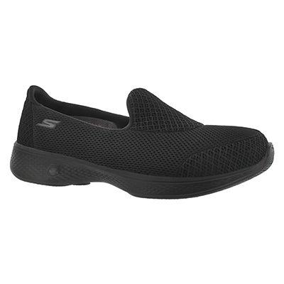 Lds GO Walk 4 Propel blk walking shoe