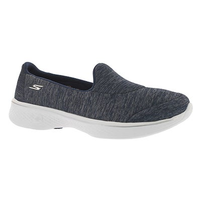 Lds GO Walk 4 Astonish navy walking shoe