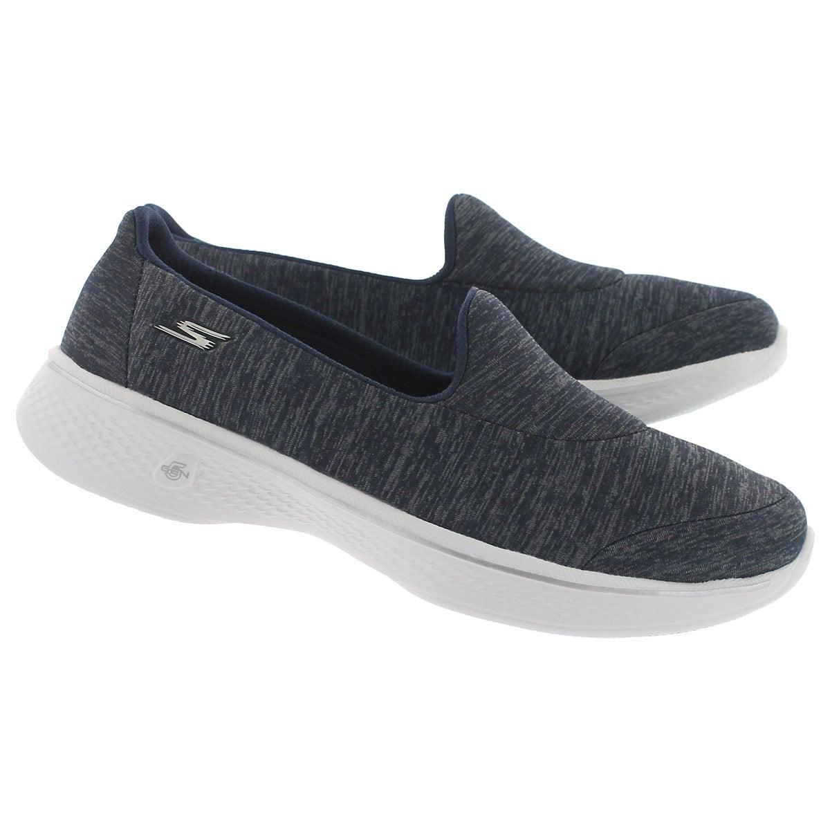 Lds GO Walk 4 Astonish navy walking shoe
