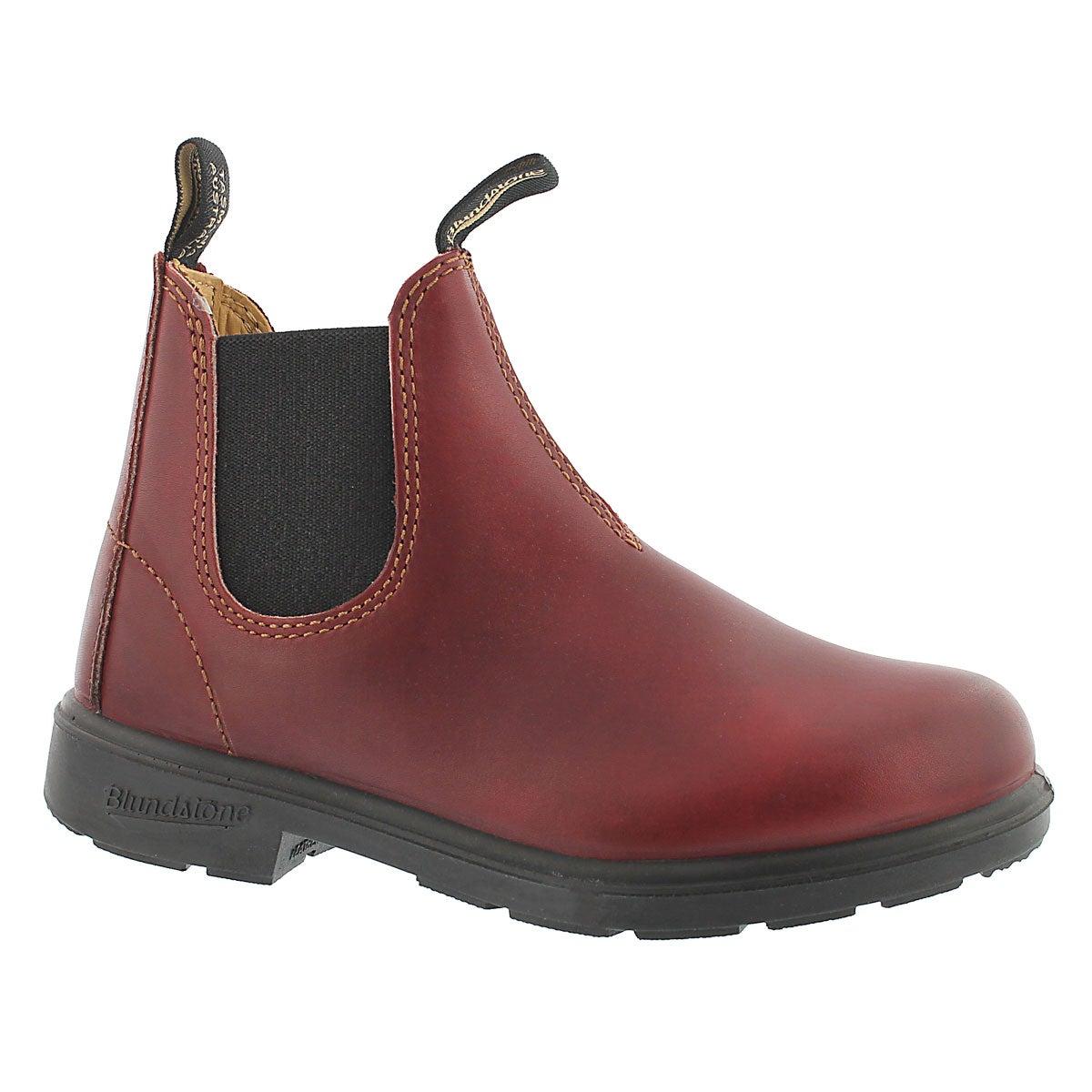 Kids Blunnies burgundy twin gore boot