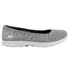 Lds GOstep Challenge blk/wt walking shoe