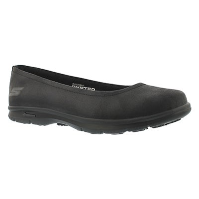 Skechers Women's DISTINGUISHED black casual flats