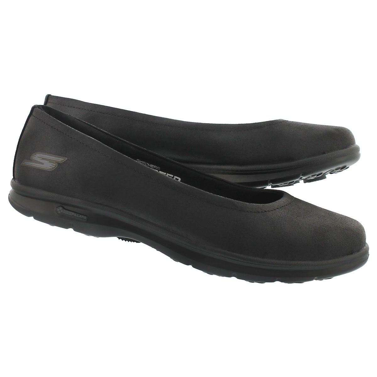 Lds Distinguished black casual flat