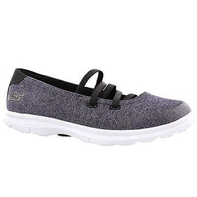 Skechers Ballerines Mary Jane POSE, noir, femmes