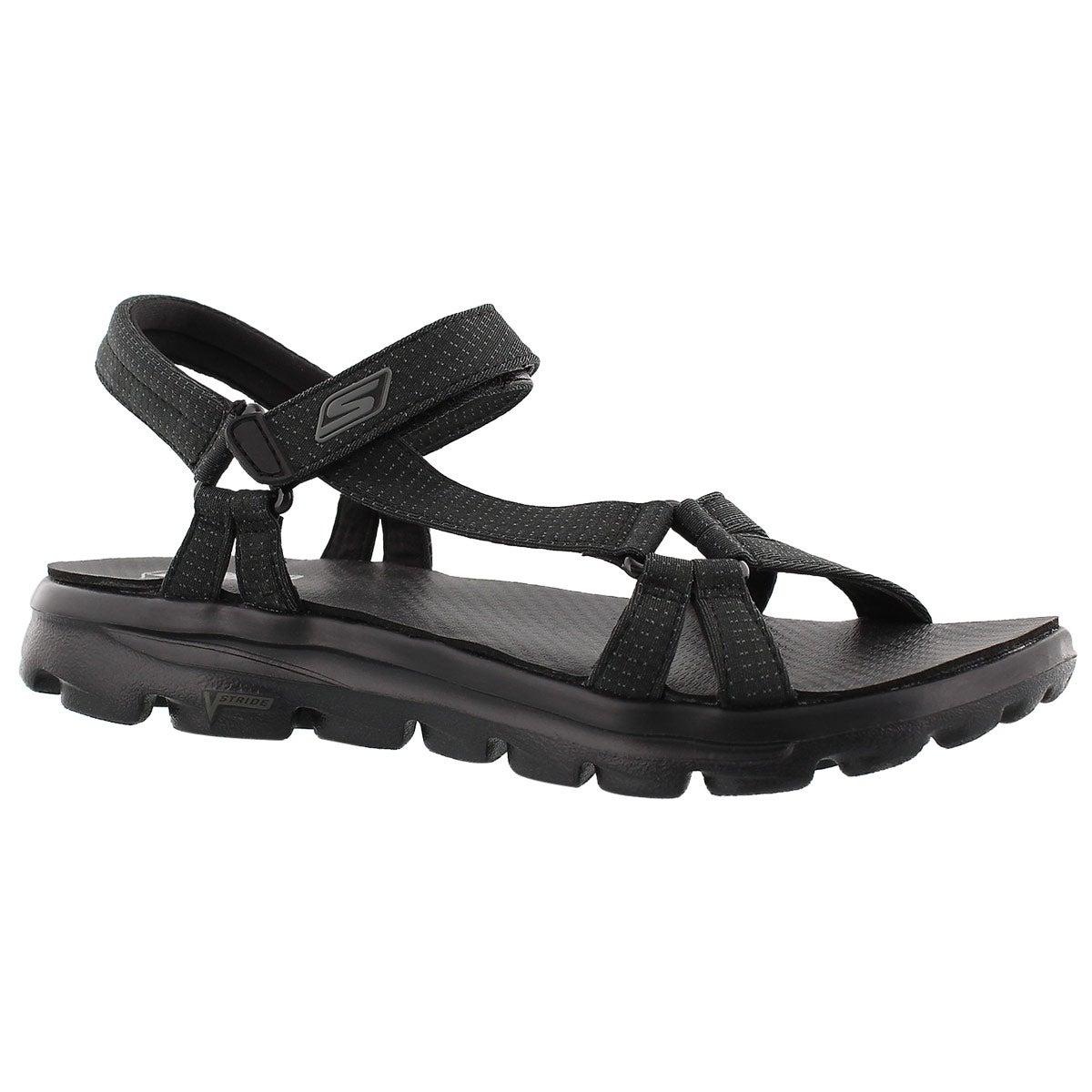 Lds River Walk black sport sandal