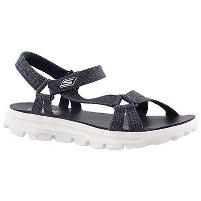 Skechers Women's RIVER WALK navy sport sandals