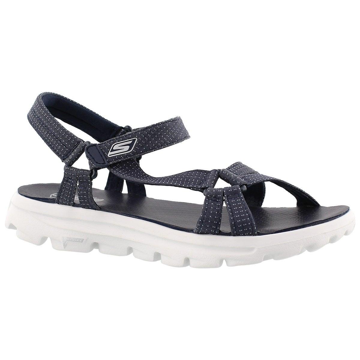 Lds River Walk navy sport sandal