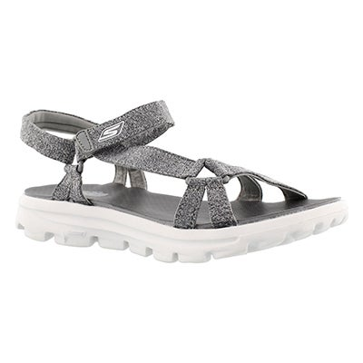 Skechers Women's GOwalk MOVE grey sport sandals