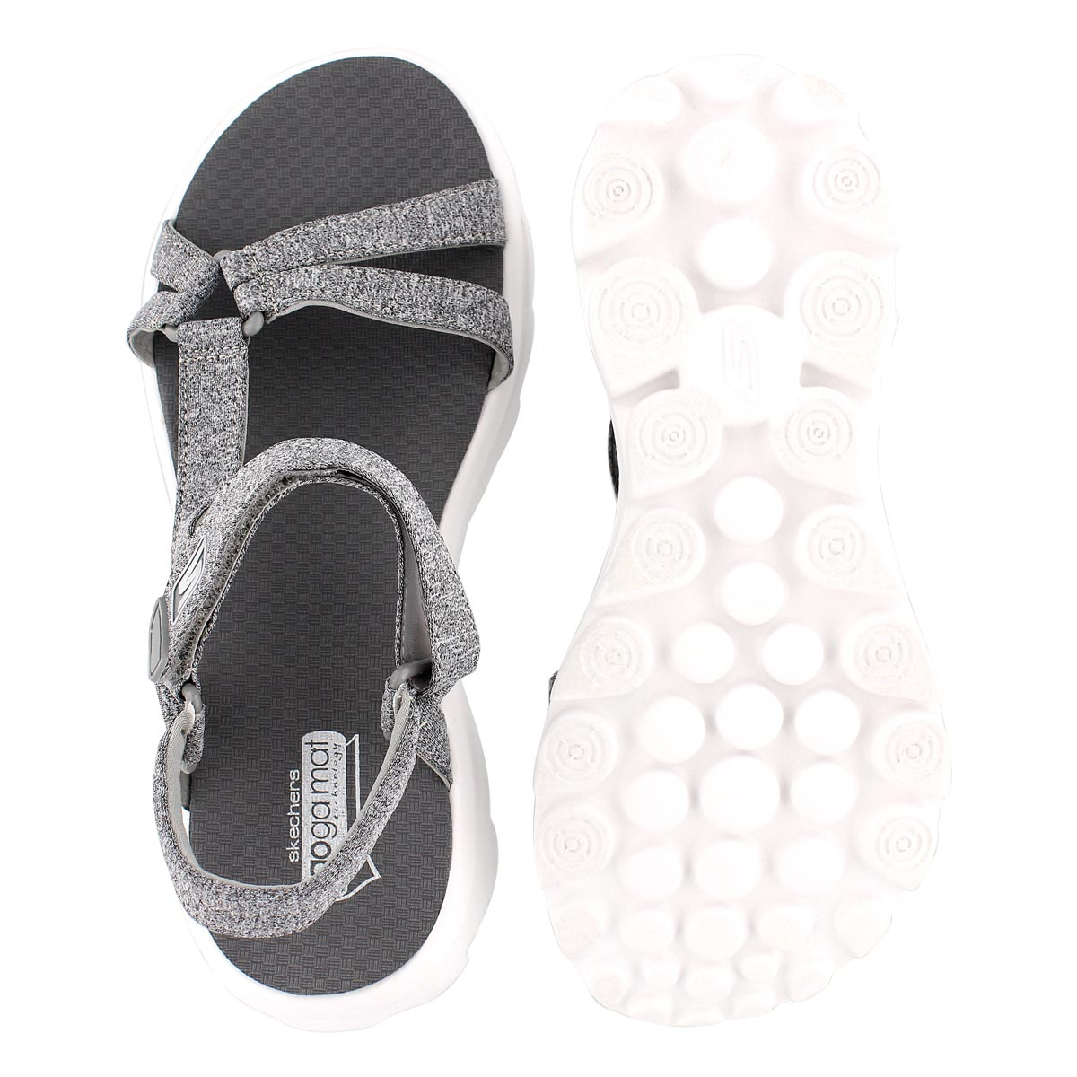 Lds River Walk grey sport sandal