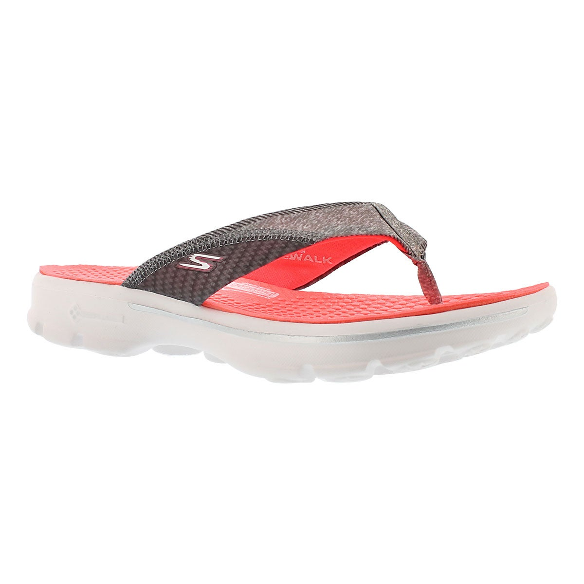 Sandale tong Pizazz, rose vif, femmes