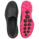 Lds H2 GO black/pink waterproof slip on