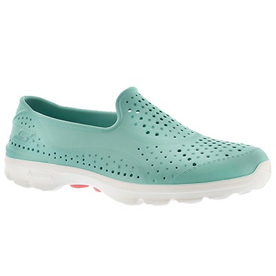 Skechers Women's H2GO mint waterproof slip on shoe