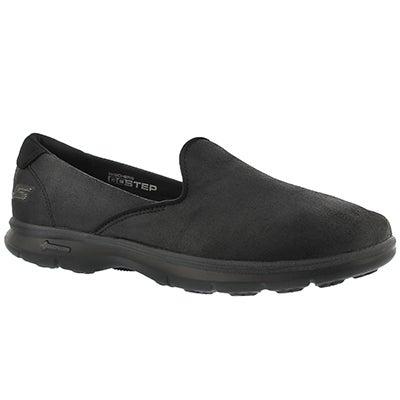 Lds Untouched black slip on loafer