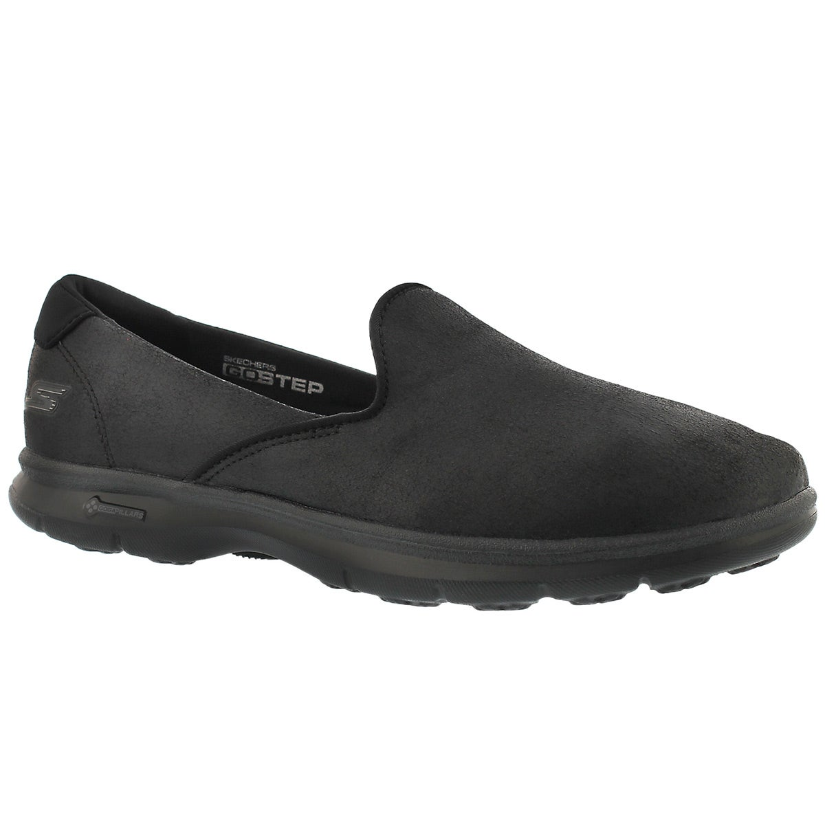 Women's UNTOUCHED black slip on loafers