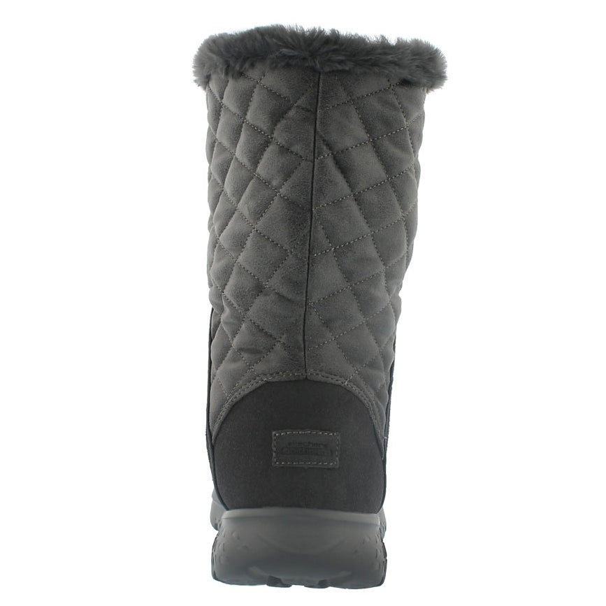 Lds 400 Snugly char quilted mid boot