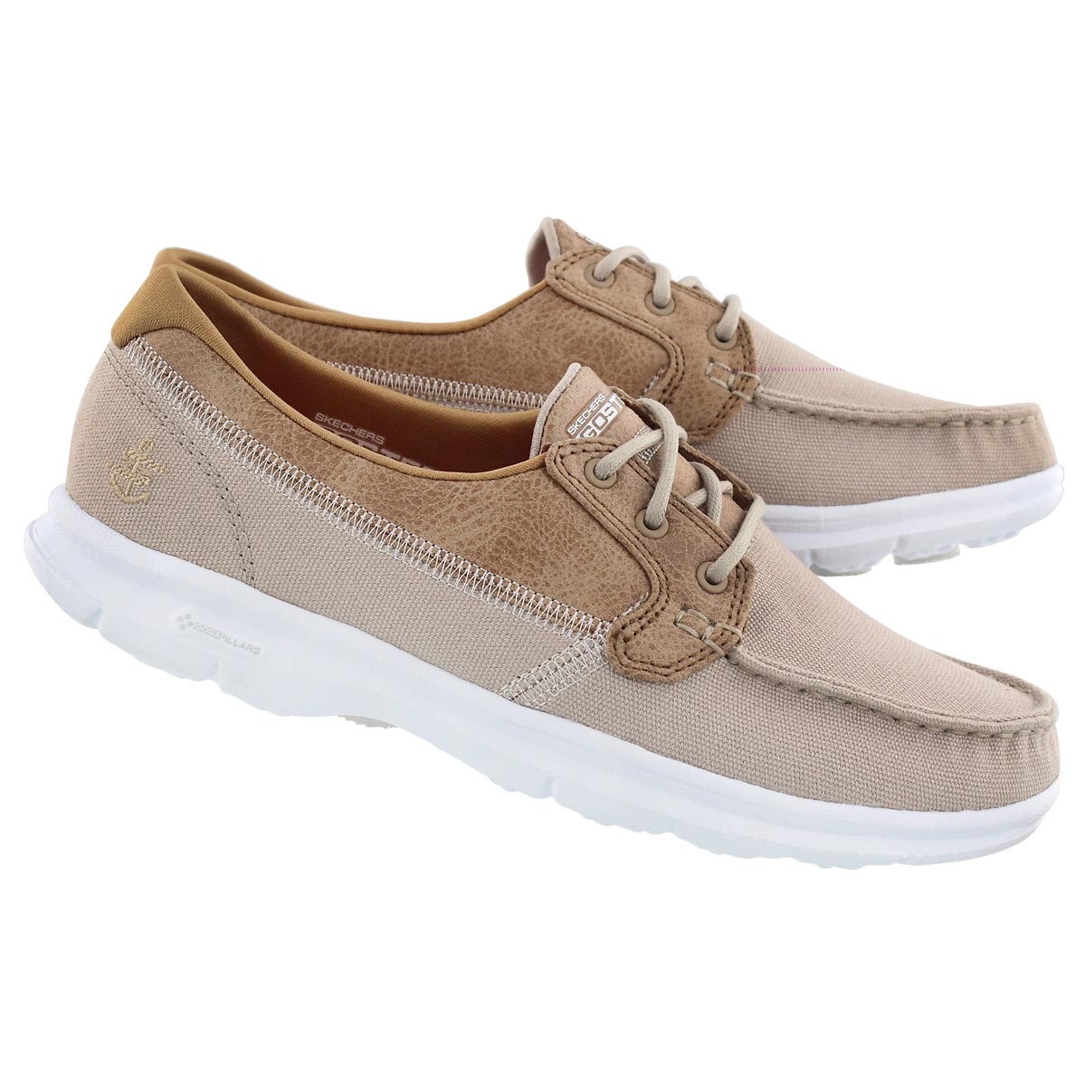 Lds GOstep Seashore natural boat shoe