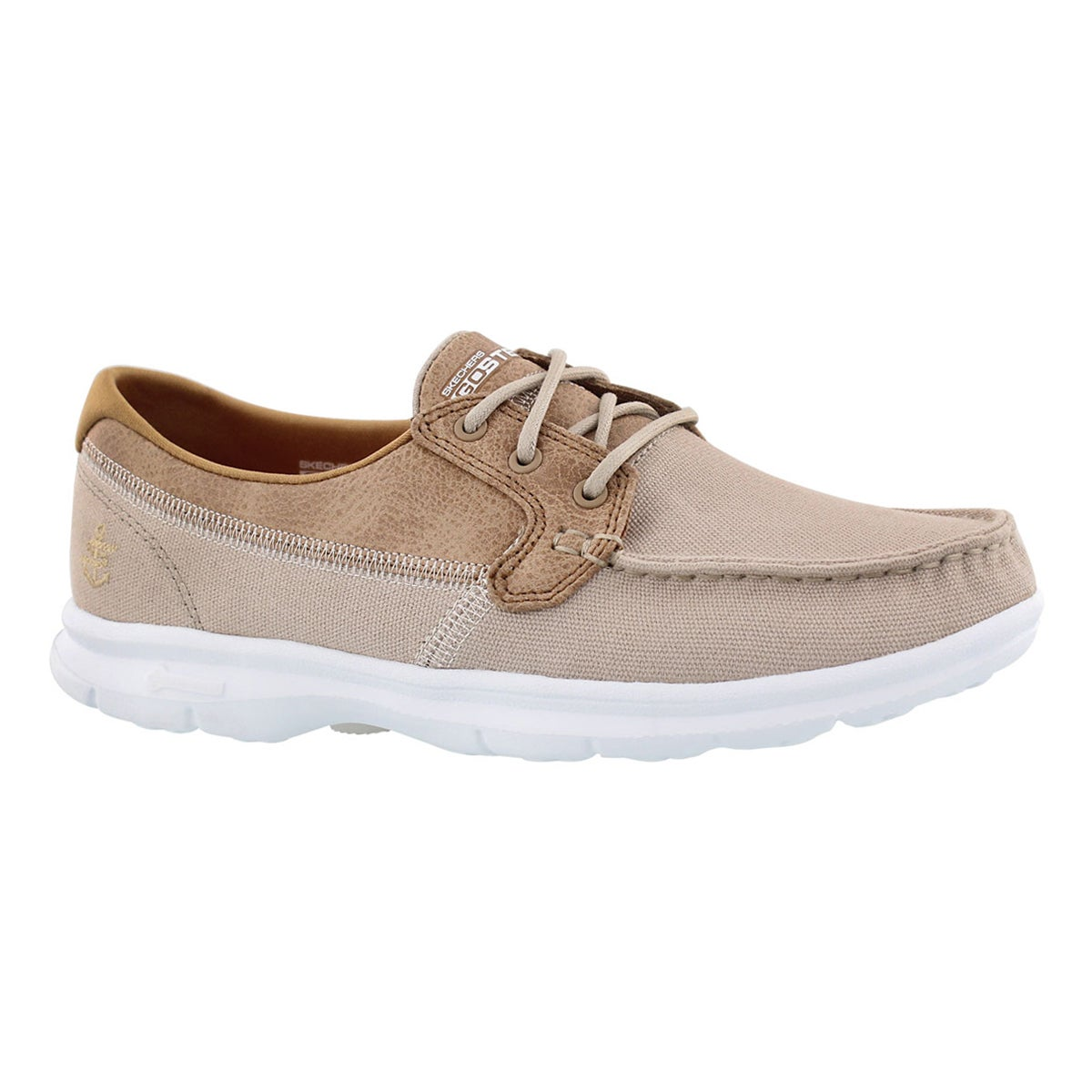 Women's GOstep SEASHORE natural boat shoe