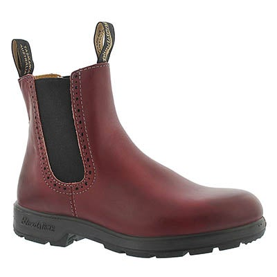 Blundstone Women's 1443 GIRLFRIEND burgundy pull on boots