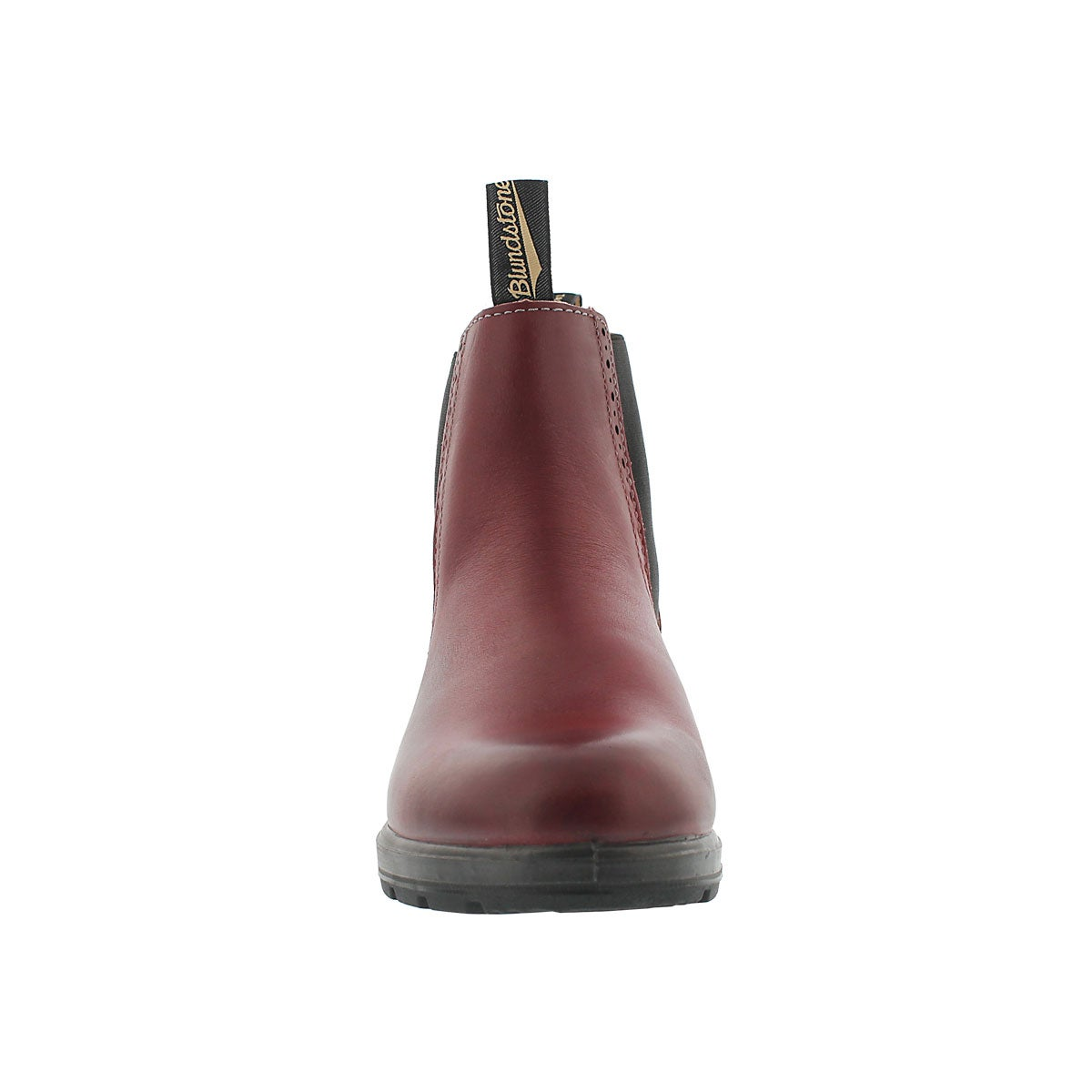 Lds Girlfriend burgundy pull on boot