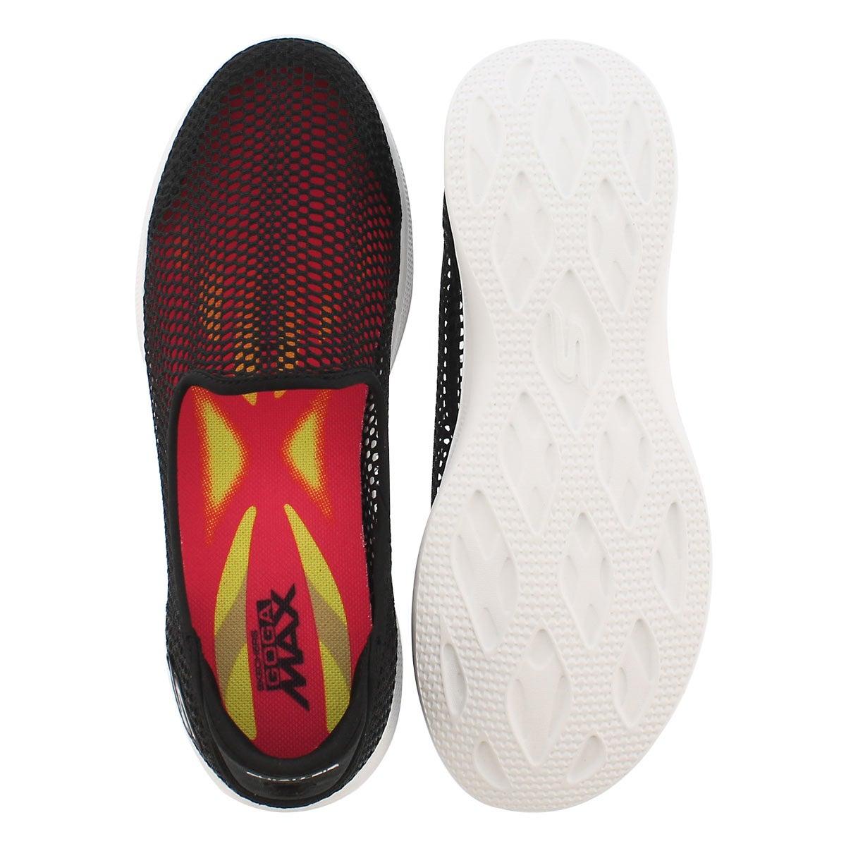 Lds GO Step Lite Wispy blk walking shoe