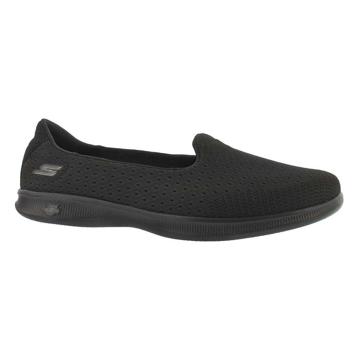Women's GO STEP LITE ORIGIN blk walking shoes