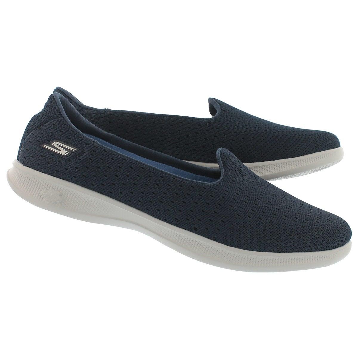 Lds GO Step Lite Origin nvy walking shoe