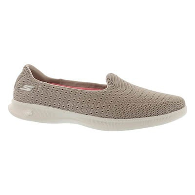 Skechers Women's GO STEP LITE ORIGIN taupe walking shoes