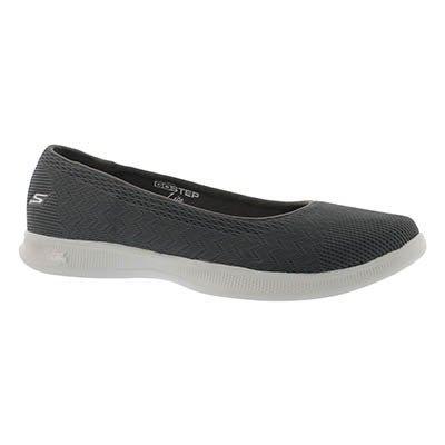 Lds GOstep Lite Solace charcoal flat