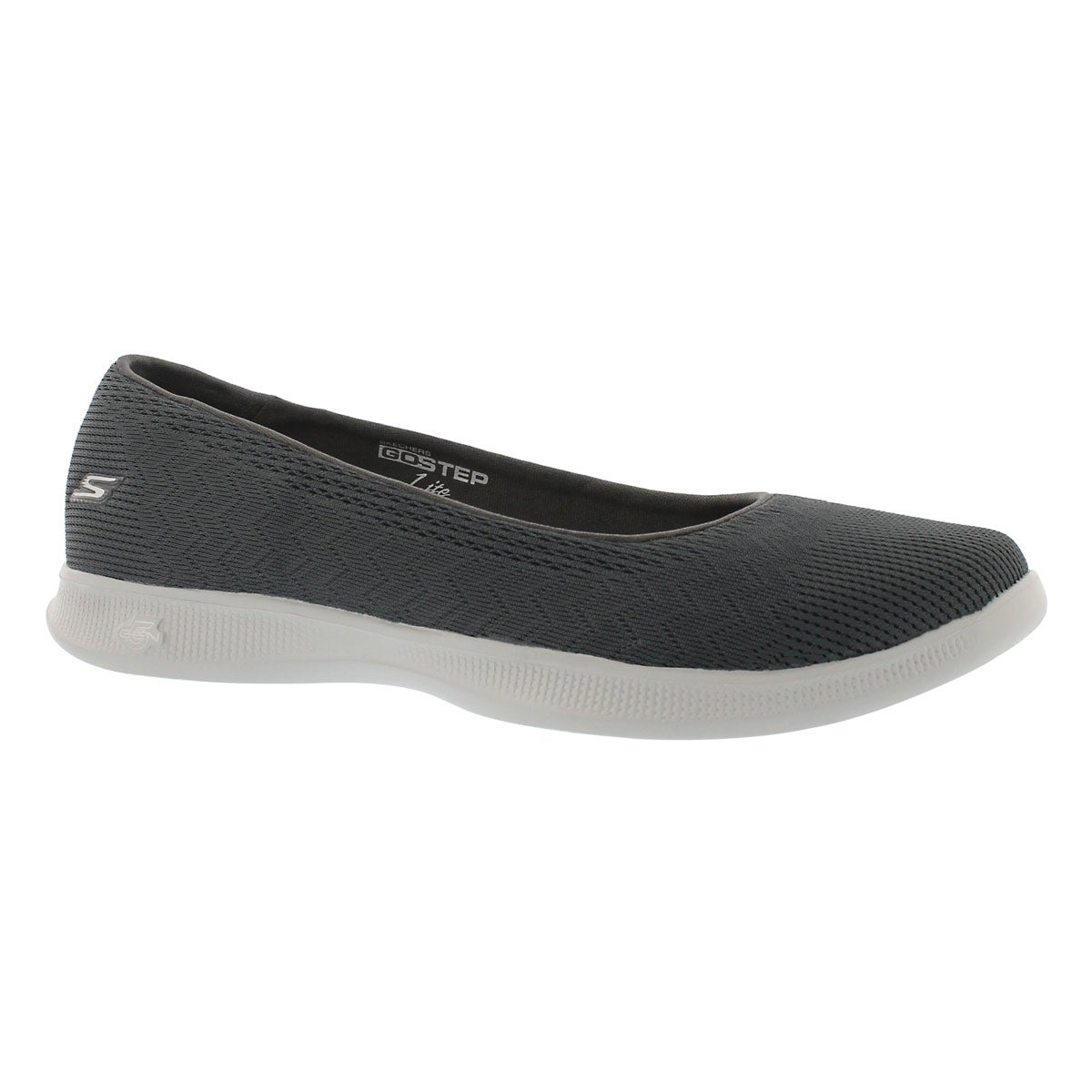 Women's GOstep LITE SOLACE charcoal flats