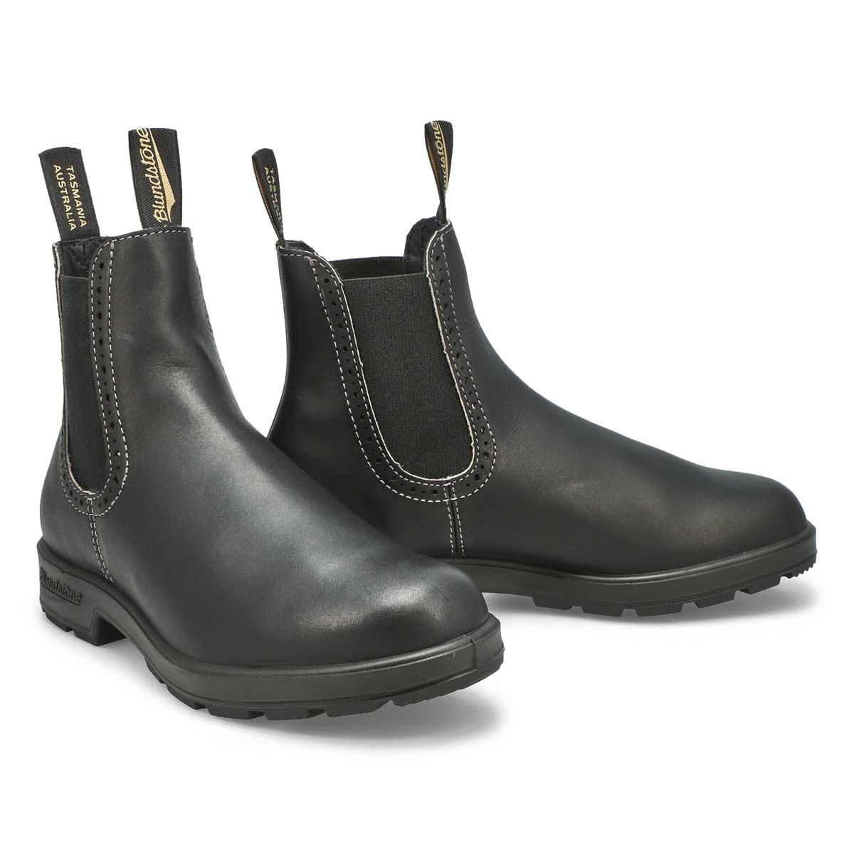 Lds Girlfriend black pull on boot