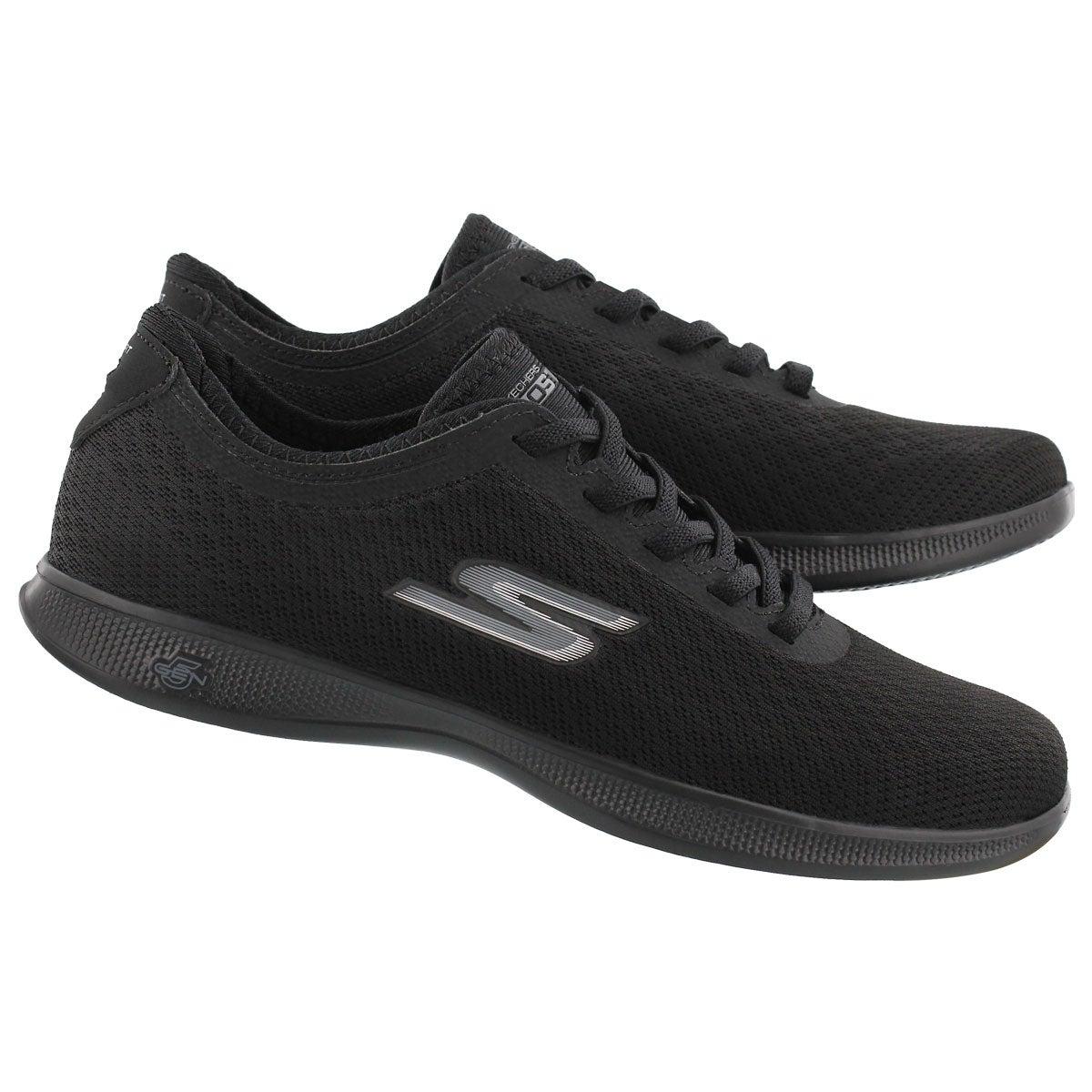 Lds GOstep Lite Dashing blk sneaker