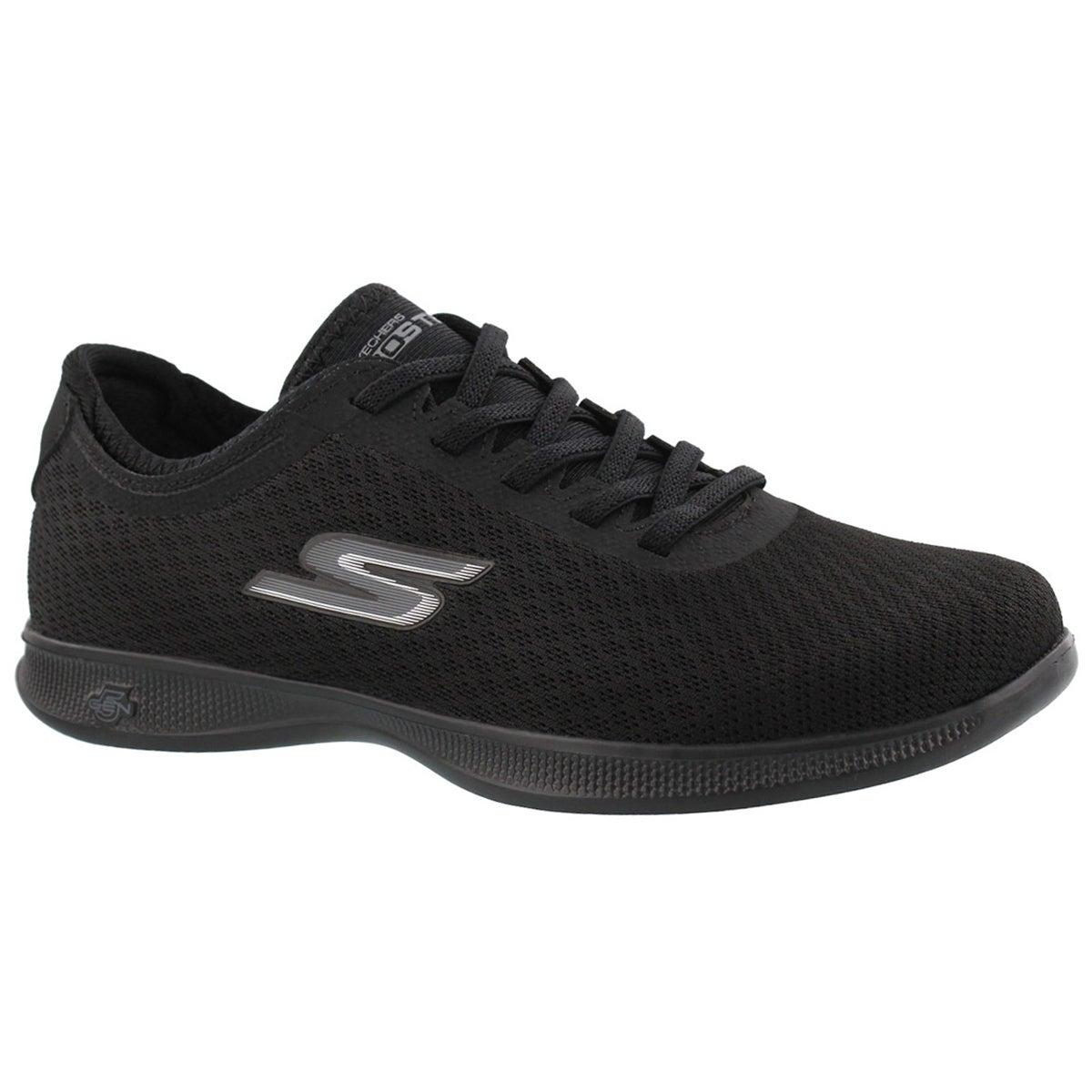 Women's GOstep lite DASHING black sneaker