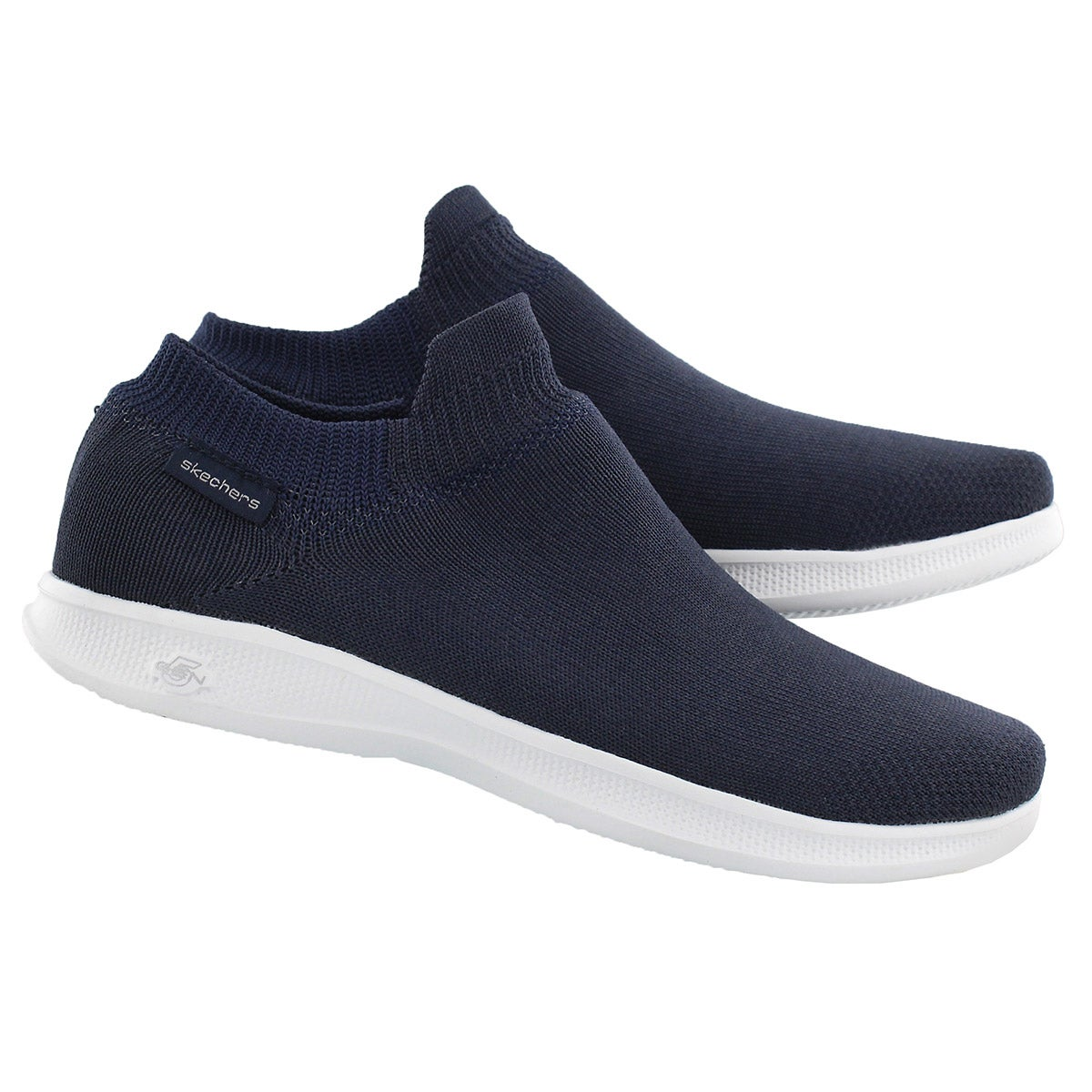 Lds GOStep Lite Ultrasock navy slip on