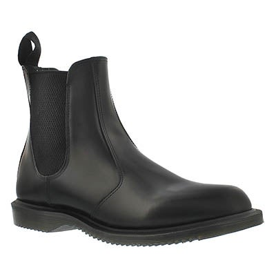Dr Martens Women's FLORA black pull on chelsea boots
