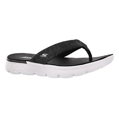 Lds On-The-Go400Vivacity bk/wt flipflop