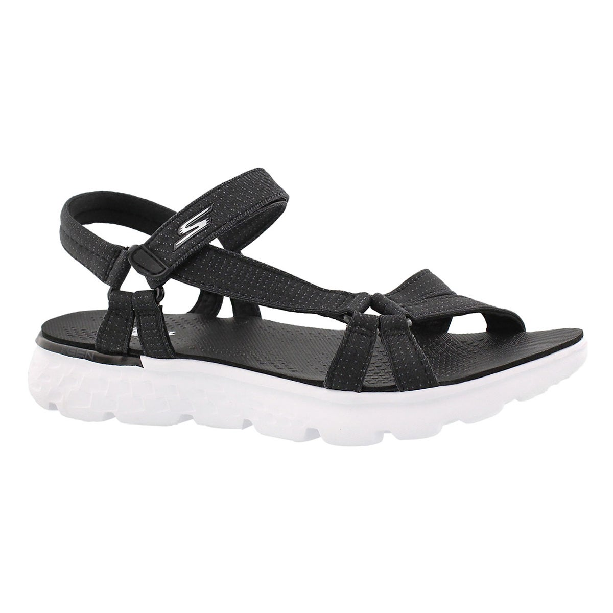 Women's ON-THE-GO 400 black sport sandals