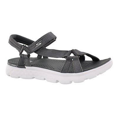 Skechers Women's ON-THE-GO 400 charcoal sport sandals