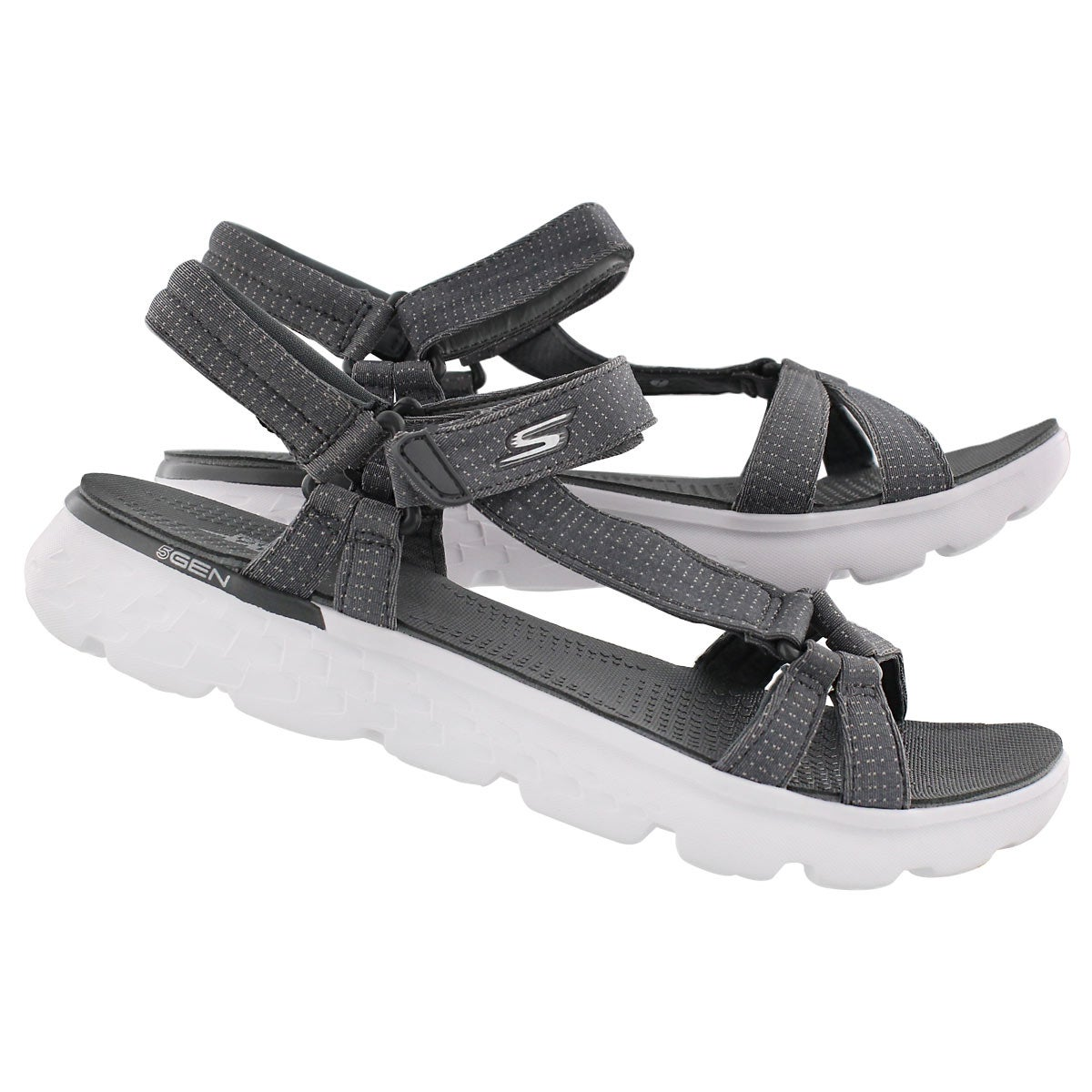 Lds On-The-Go 400 charcoal sport sandal
