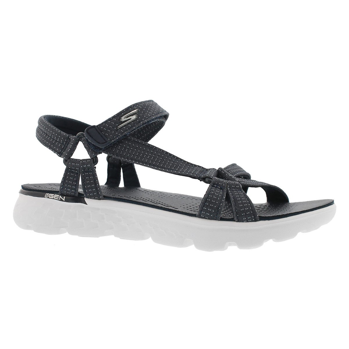 Women's ON-THE-GO 400 navy sport sandals