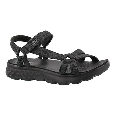 Skechers Women's ON-THE-GO 400 black/grey sport sandals