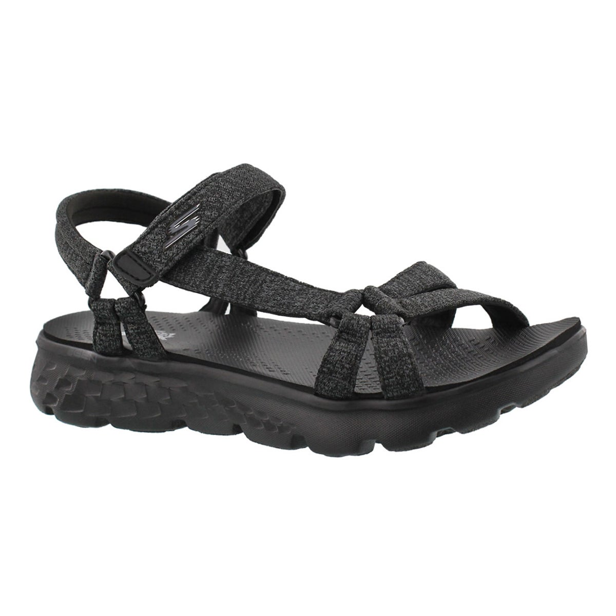 Women's ON-THE-GO 400 black/grey sport sandals