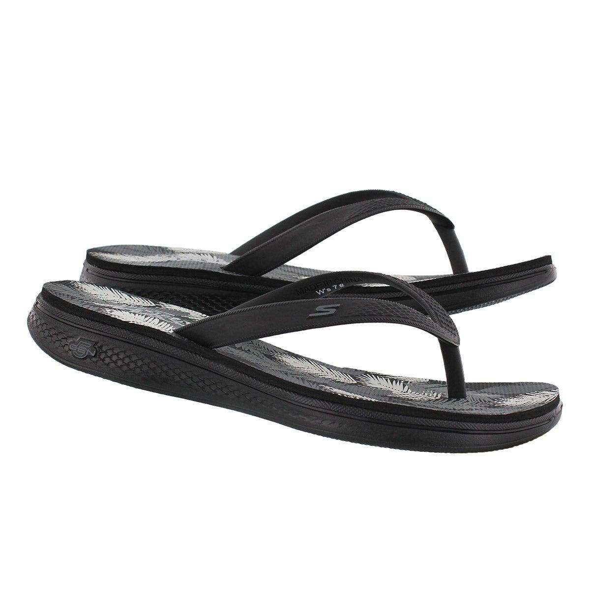 Lds H2 Goga black/grey flip flop